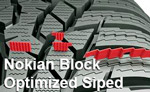 Система ламелей NokianBlock Optimized Siped